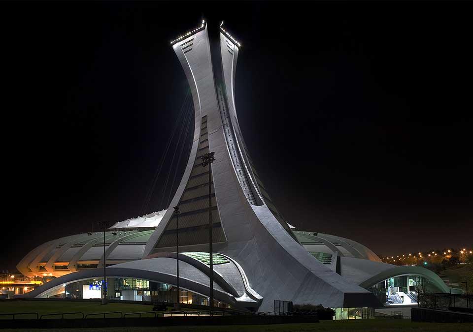 Olympijský štadión v Montreale (Kanada)