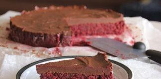 Cviklovo-čokoládový RAW koláč