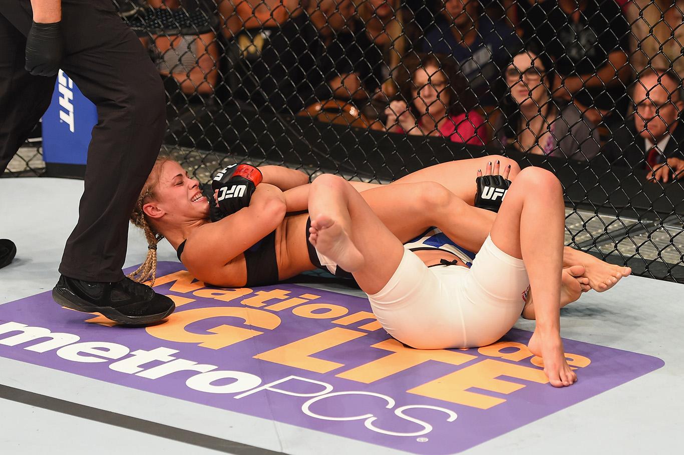 UFC 191: VanZant vs Chambers