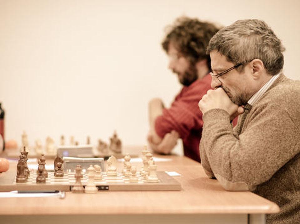 Žijúca legenda slovenského šachu veľmajster Ľubomír Ftáčnik, hráč ŠK Commander Bratislava