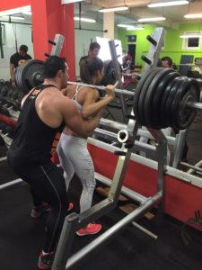 Tímea Trajteľová 05 240 kg