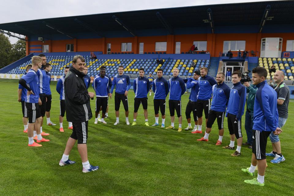 štart letnej prípravy nováčika FL futbalistov MFK Zemplín Michalovce