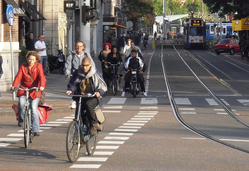 Amsterdam je raj pre cyklistov