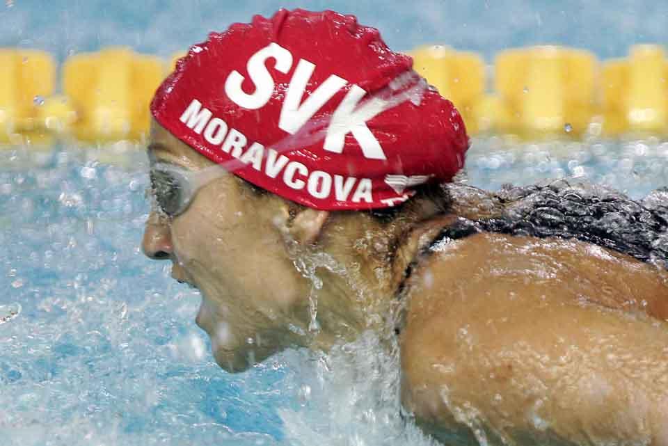 Slovenka Slovensko Martina Moravcová zlatá medaila víťazstvo osobnosti