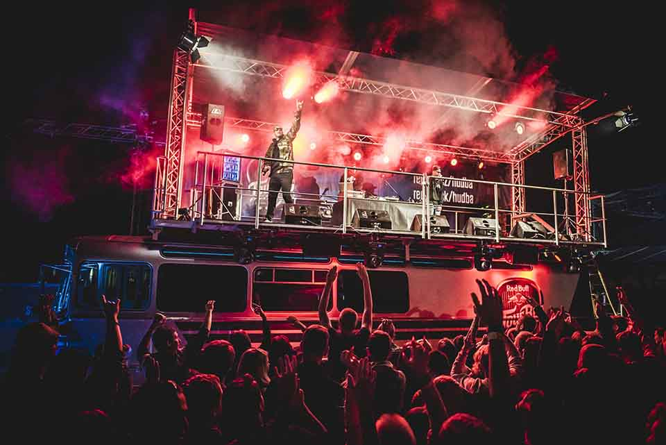 PSH perform at the Red Bull Tour Bus in Hradec nad Moravici, Opava, Czech Republic on August 21st 2015 // Lukas Wagneter / Red Bull Content Pool //
