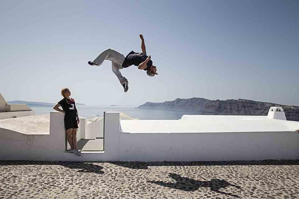 Le Parkour: Umenie kreatívneho pohybu