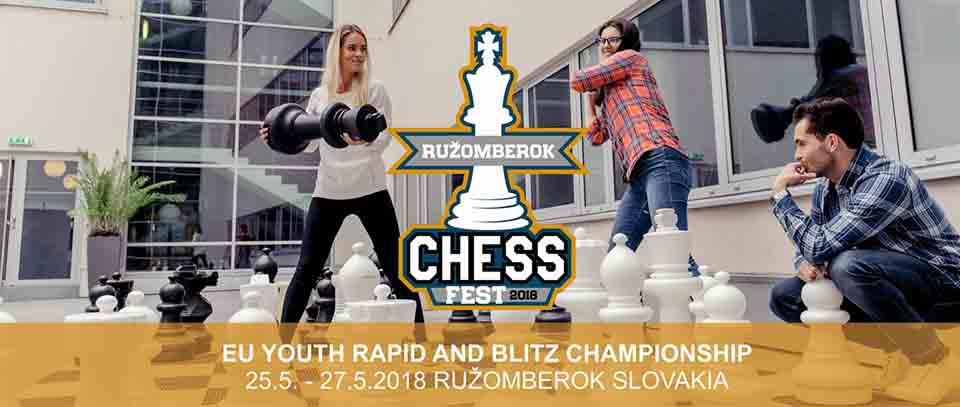 Európsky šachový šampionát mládeže bude v Ružomberku