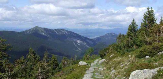 Nízke tatry, chopok, turisticke chodníky