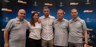 Milan Škriniar a Orange Sport