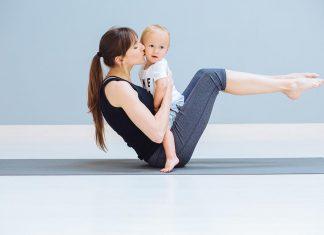 dojčenie a šport