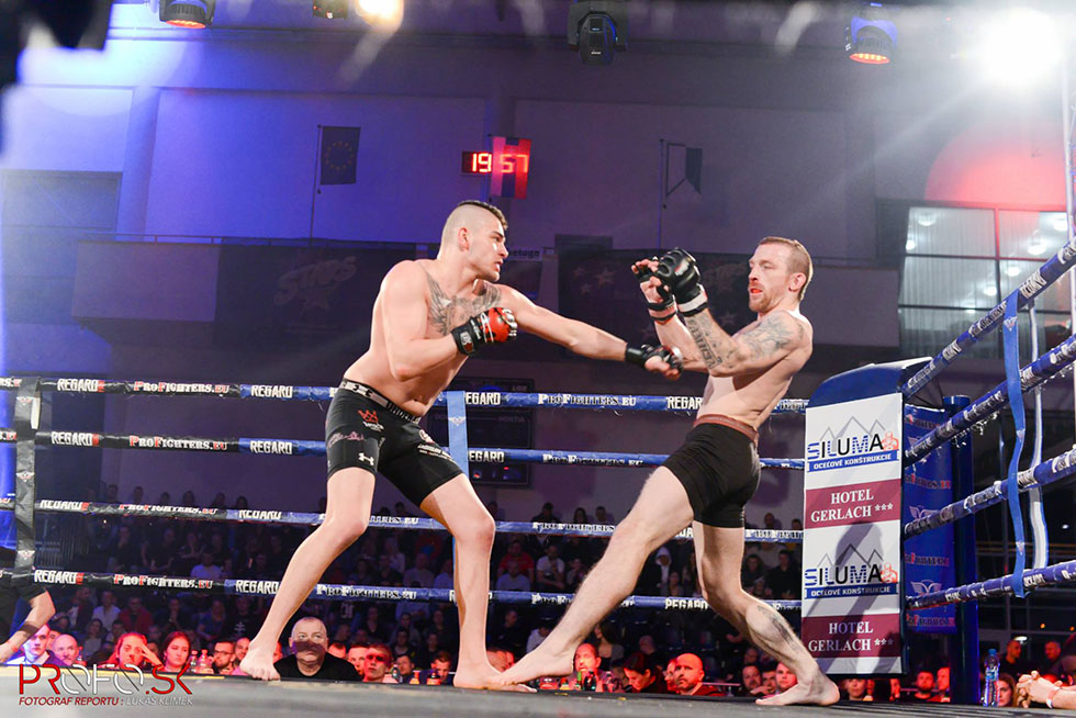 Ladislav Koky zápas v ringu mma