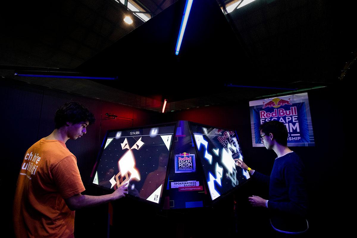 Red Bull Escape Room