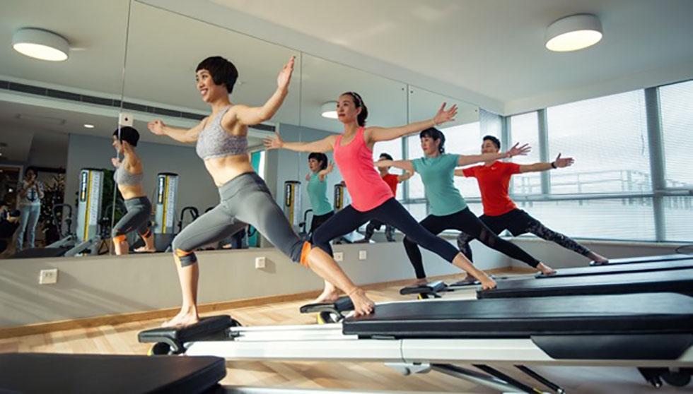 pilates tréning