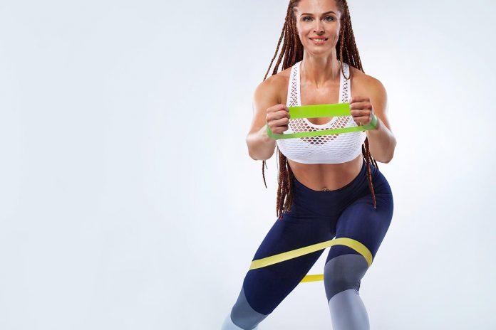 tréning s expanderom - odporová guma