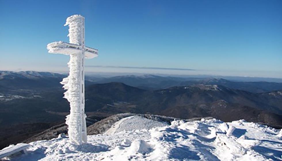 turistika v zime na horach