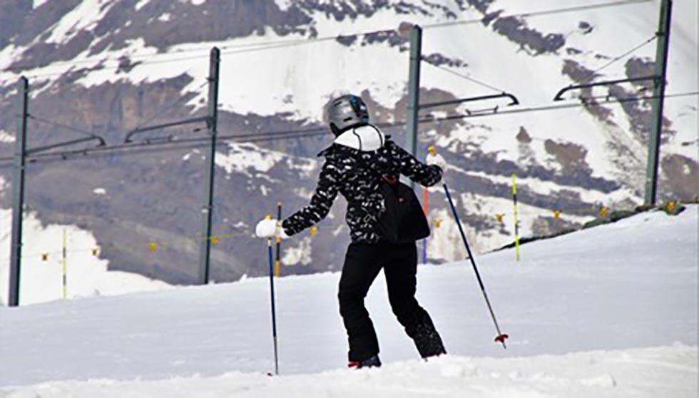 turistika v zime lyžovačka
