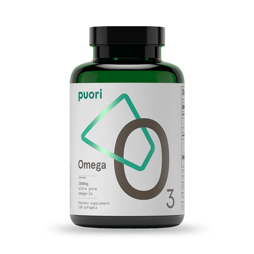 Puori Omega 3 – rybí olej