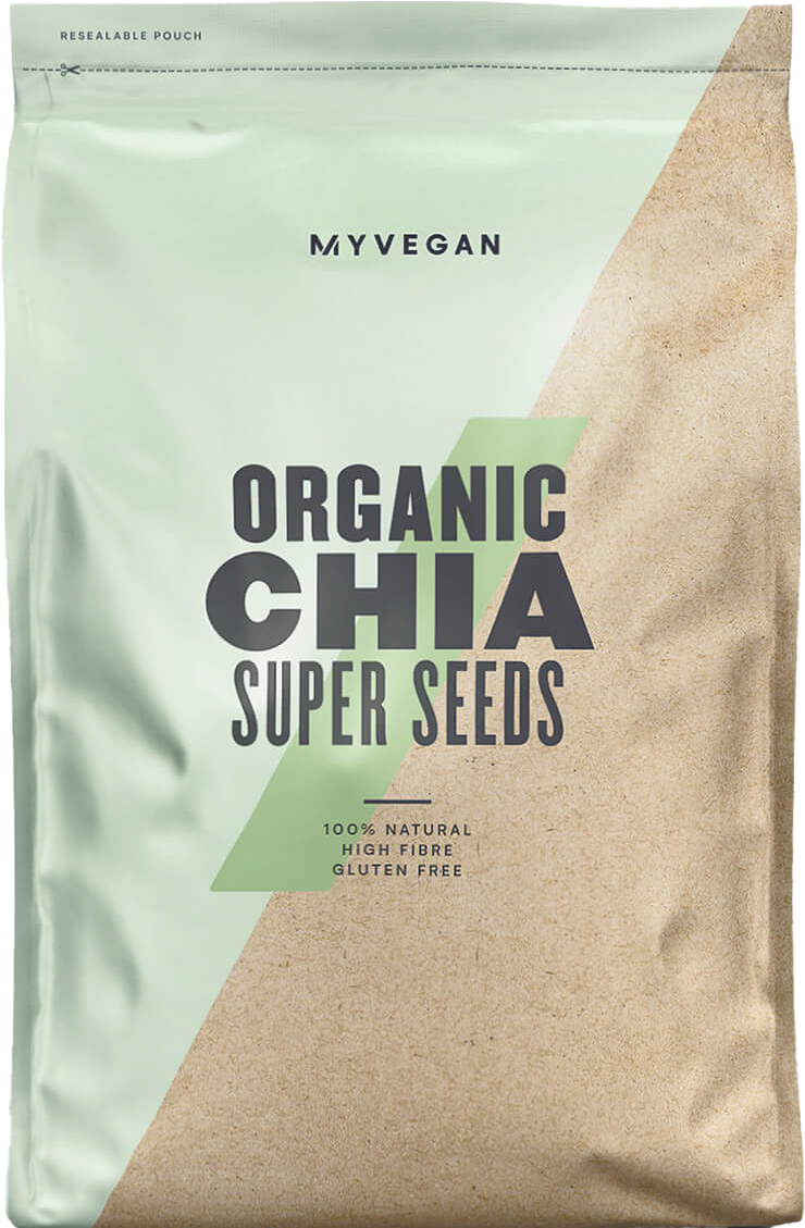 organické chia semienka
