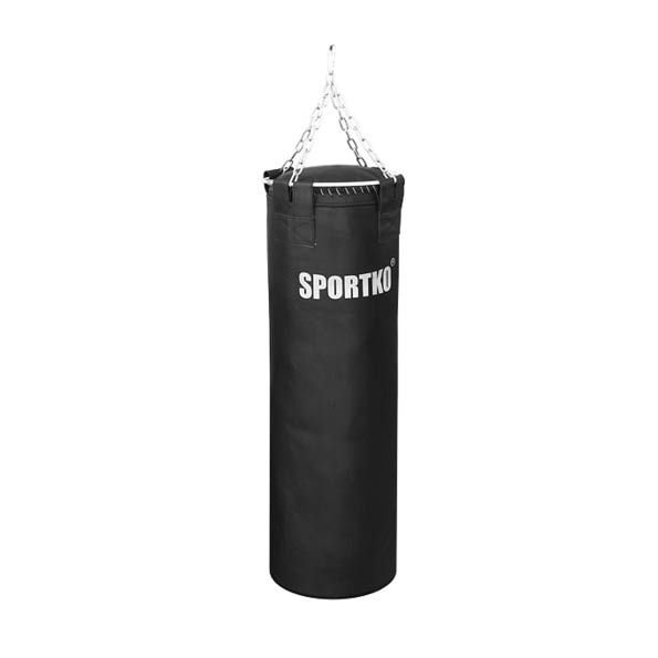 Kožené boxovacie vrece SportKO Leather 35x110 cm