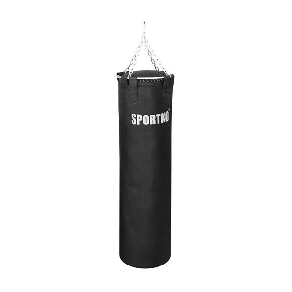 Kožené boxovacie vrece SportKO Leather 35x130 cm